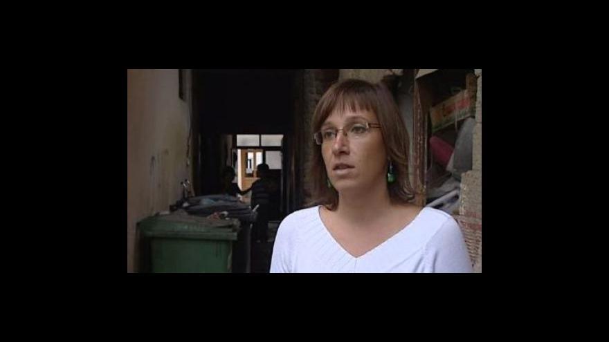 Video Marie Hanáková z radnice Brno-střed o nápadu s domovníky