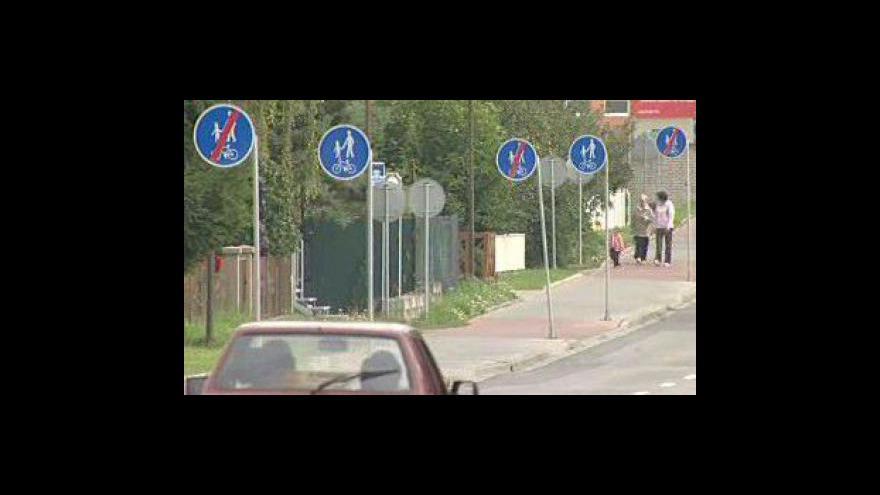 Video Kuriózní cyklostezka v Uherském Hradišti-Jarošově