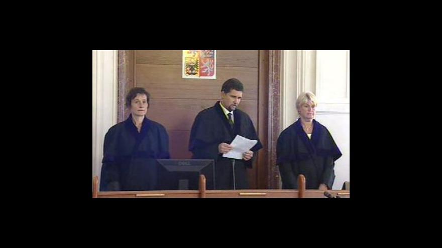 Video Rozsudek krajského soudu