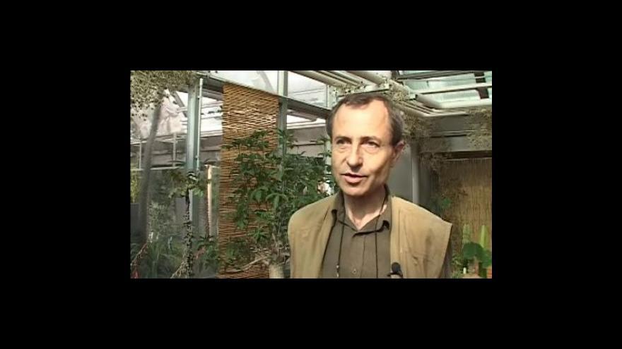 Video Autor výstavy Adolf Tomandl o rostlinách