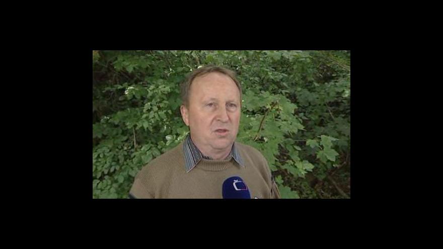 Video Starosta Břestku Jindřich Krušina (ODS) o sesuvu půdy