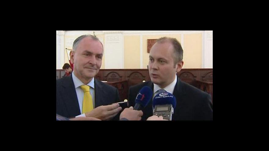 Video Reakce Michala Haška a Stanislava Juránka na kritiku  Jiřího Kadrnky