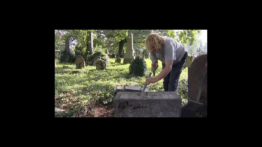 Video Oprava židovského hřbitova v Pohořelicích