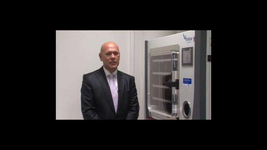 Video Marek Moša, ředitel firmy IMUNA CZ, o využití bakteriofágů při léčbě infekcí