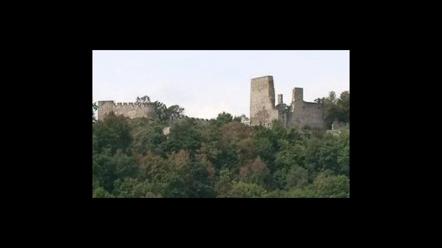 Video Historik znojemského Jihomoravského muzea Jiří Kacetl o rekonstrukci hradu Cornštejn
