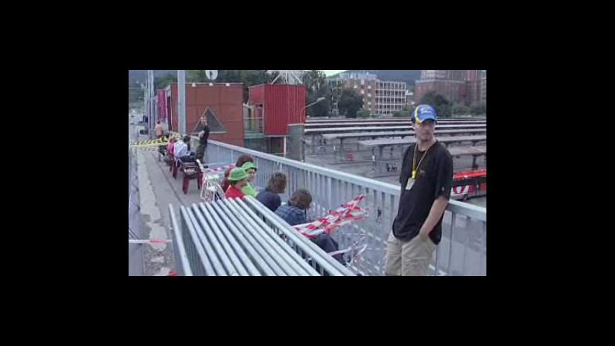 Video Přípravy na Barum Rally ve Zlíně vrcholí