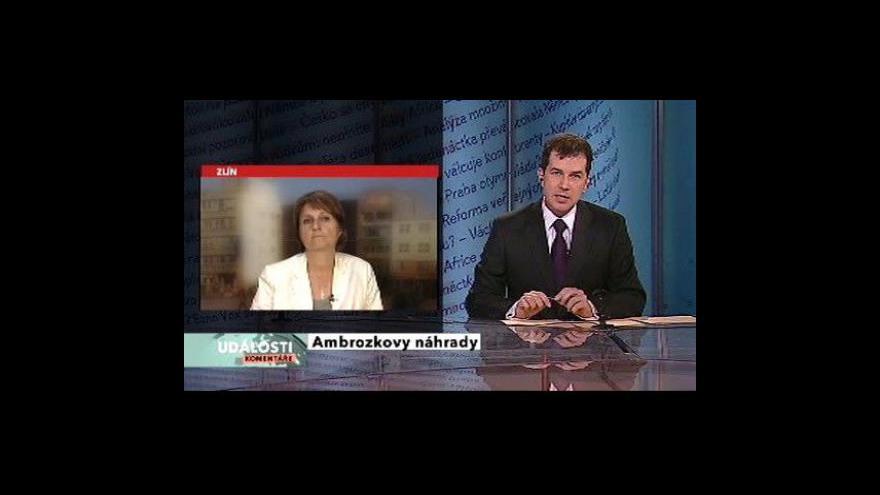 Video Michaela Šojdrová v Událostech, komentářích