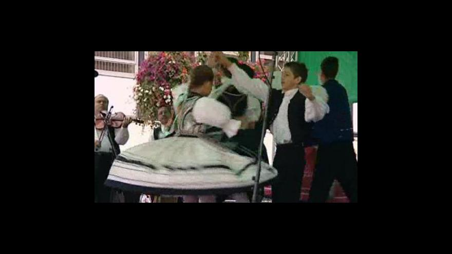 Video Vystoupení maďarského souboru Gyenes Folkdance Ensemble