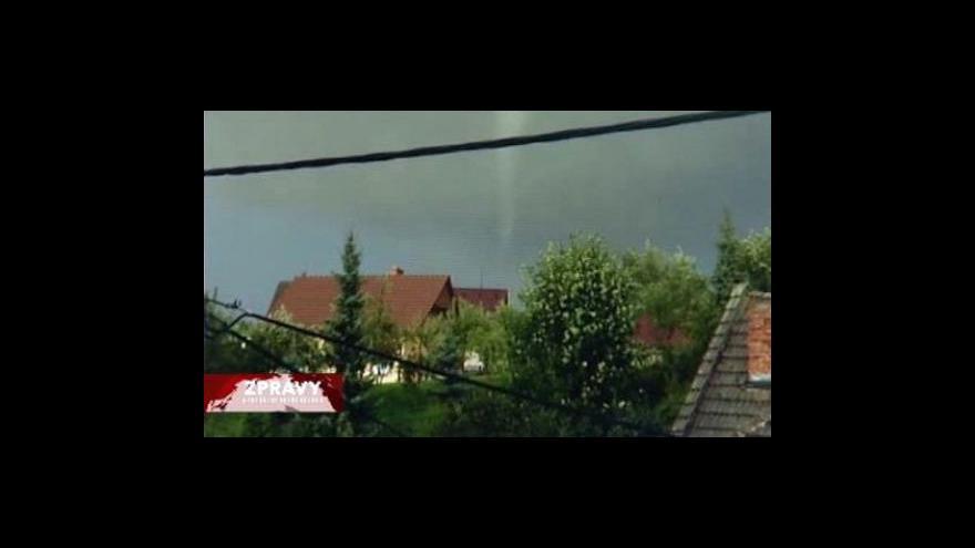 Video V Olešnici řádilo tornádo