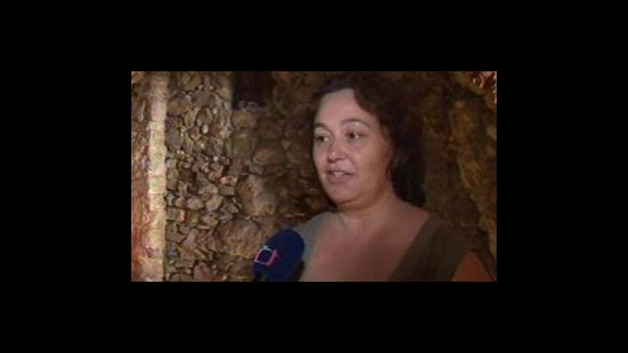 Video Členka Spolku přátel židovské kultury Marie Leskovjanová o mikve