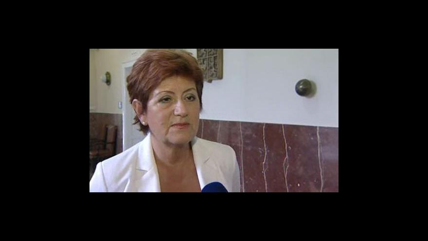 Video Vyjádření zlínské primátorky Ireny Ondrové (ODS)