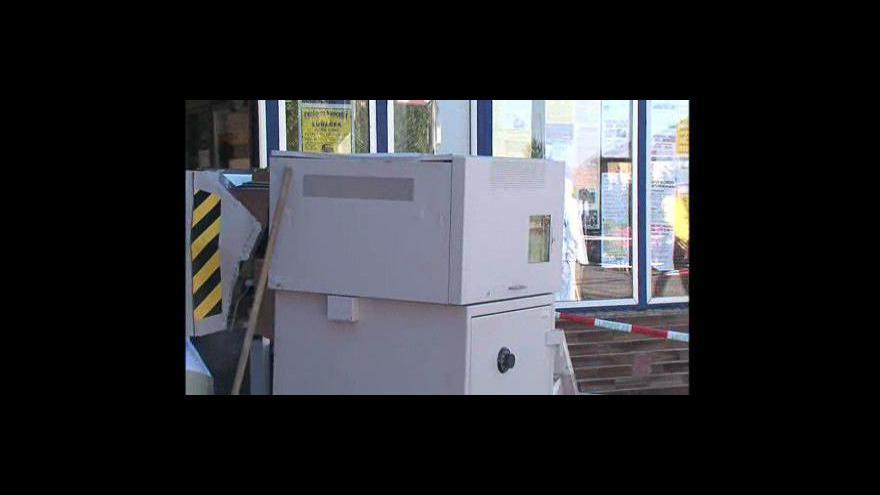 Video Policie pátrá po pachatelích neúspěšné loupeže