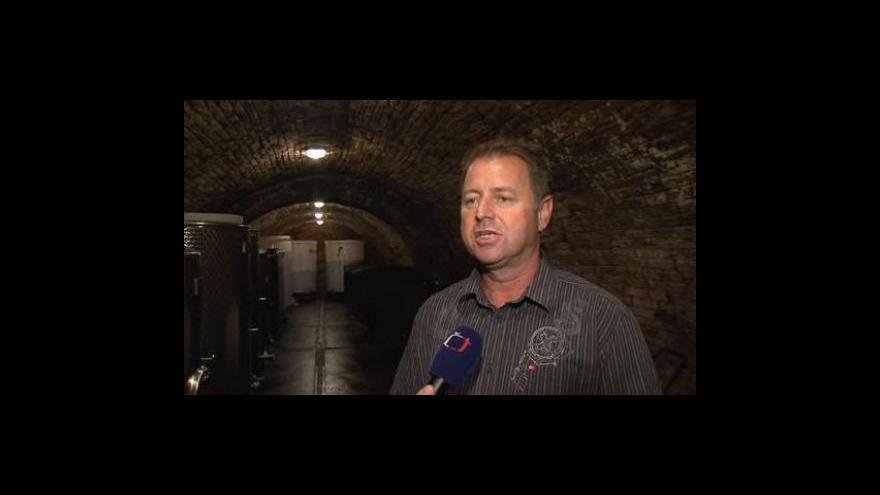 Video Vinař Jan Vrba o letošní neúrodě