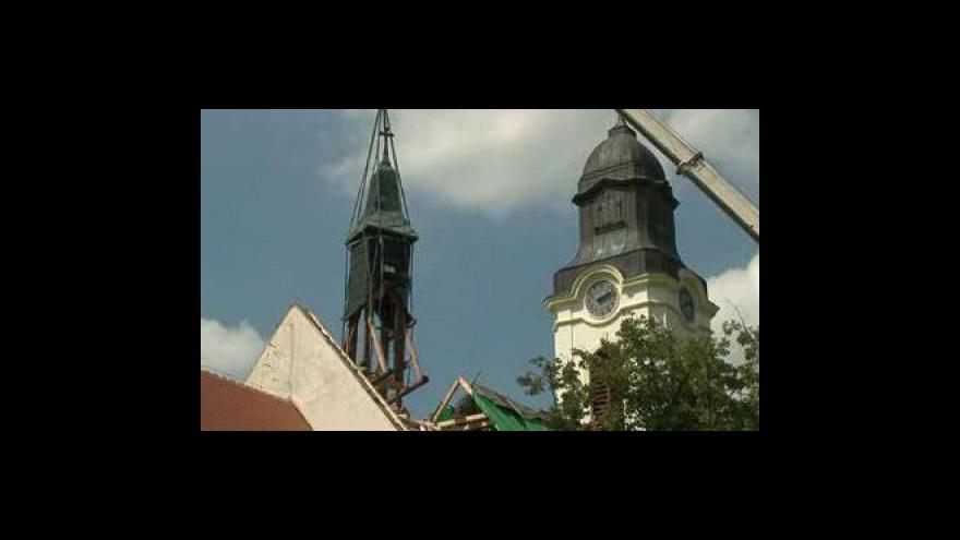 Video Oprava kostela ve Velkých Pavlovicích