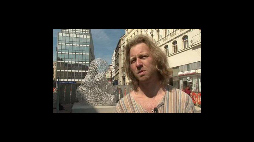 Video Výtvarník Tomáš Medek o svém díle