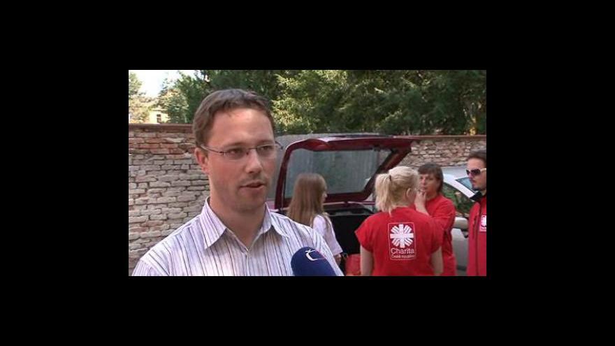 Video František Bublan z Diecézní charity Brno o pomoci dobrovolníků