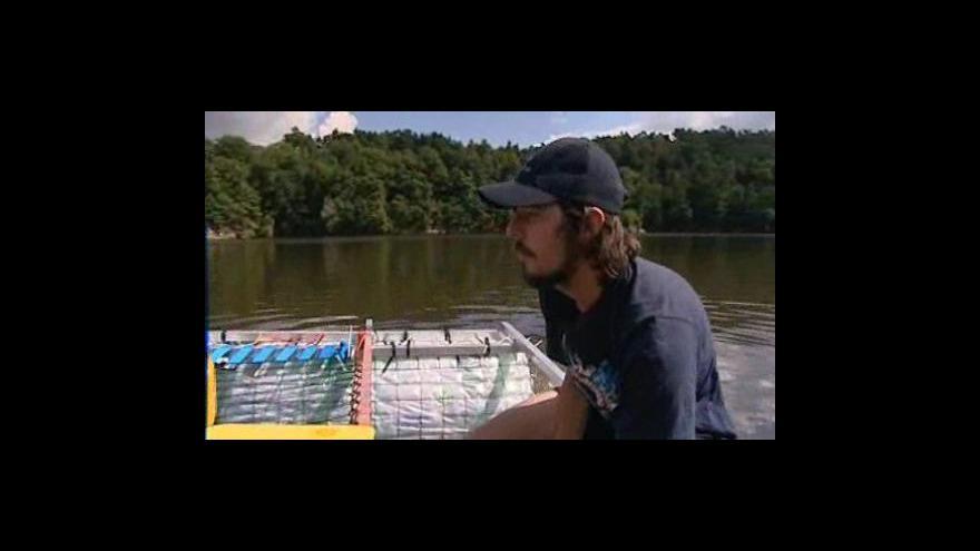 Video Albert Fikáček na své lodi