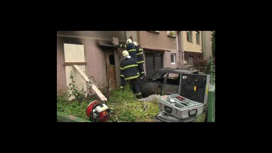 Video V Brně - Obřanech vybuchl plyn v rodinném domě