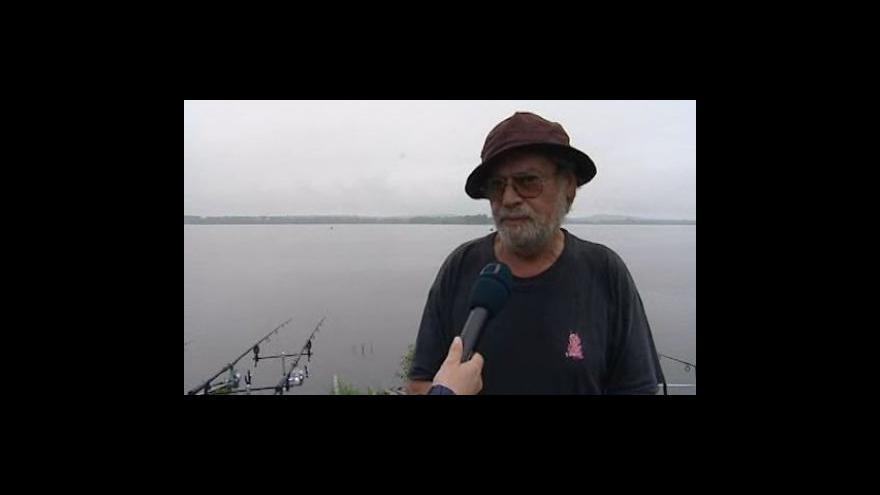 Video Rybář z Pasohlávek Jiří Kraus o rekordně velkému sumci