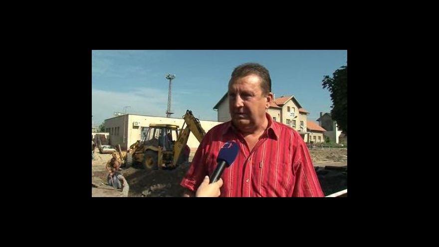 Video Místostarosta Kyjova Miroslav Hula (ODS) o stavbě přestupního terminálu