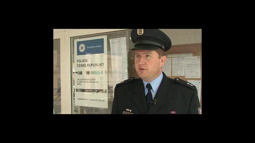 Video mluvčí cizinecké policie v Brně Roman Pittner