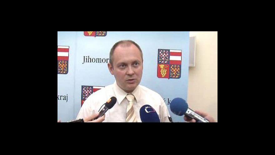 Video Hejtman Michal Hašek (ČSSD) o podpoře zachování Slovanské epopeje v Moravském Krumlově
