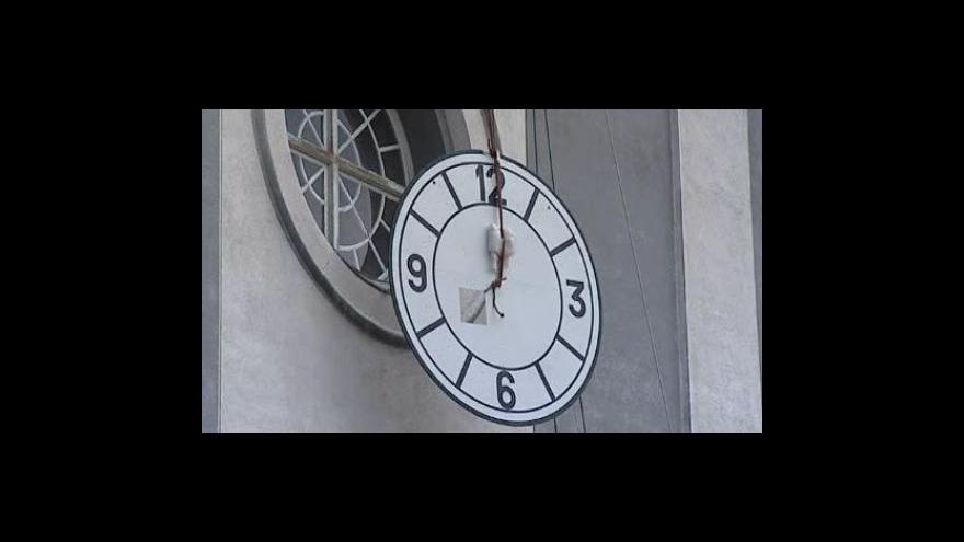 Video Návrat ciferníku na věž kostela ve Vanovicích