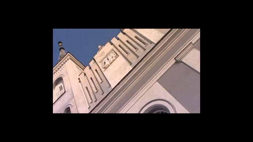 Video Hodiny ve věži vanovického kostela - archivní záběry