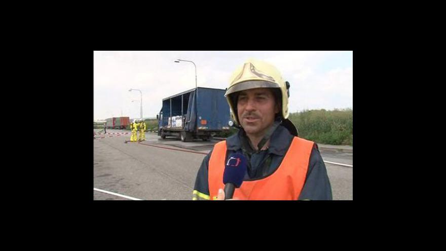 Video Vyjádření velitele zásahu hasičů Radima Kusaly