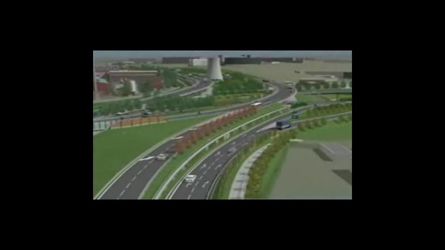 Video Vizualizace dopravního napojení na Královopolské tunely