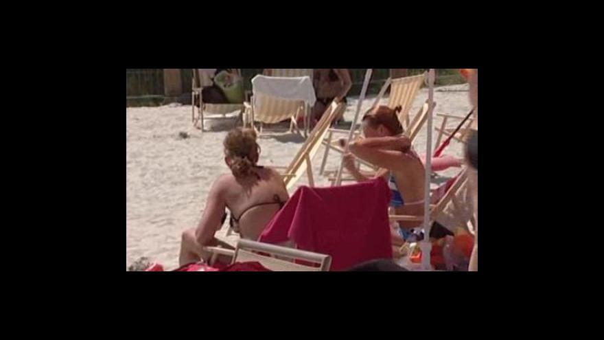 Video Písečné pláže vyrostly také v dalších městech
