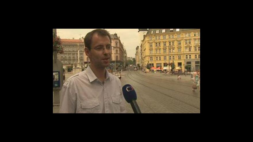 Video Tiskový mluvčí MČ Brna-střed Roman Burián o kropení