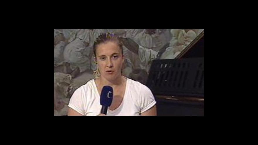 Video Vstup Evy Lípové z Moravského Krumlova