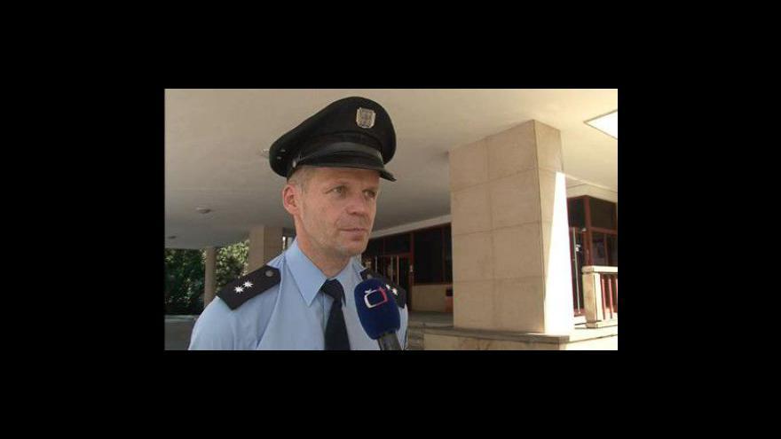 Video Mluvčí policie Bohumil Malášek ke krádeži soch