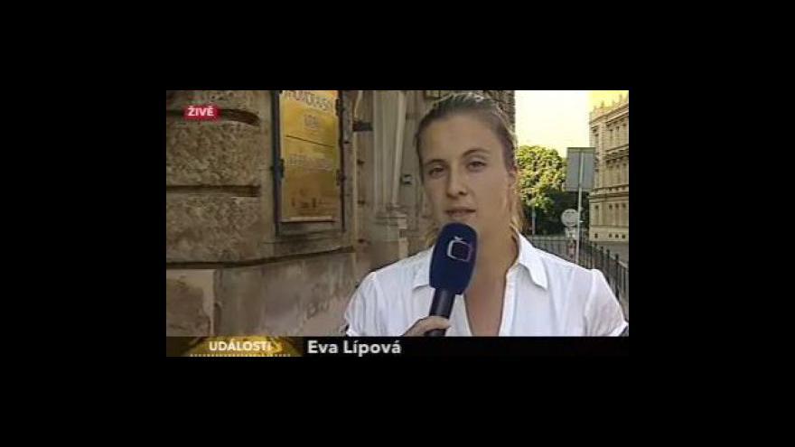 Video Živý vstup Evy Lípové