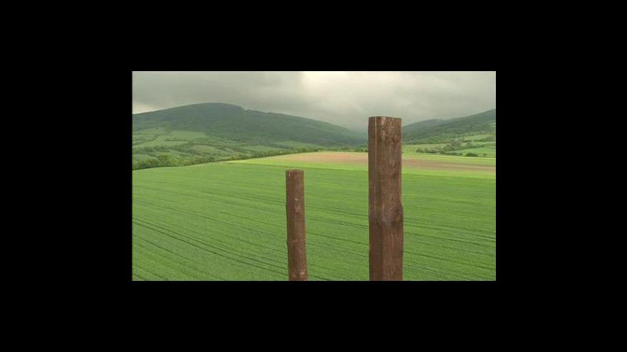 Video Pohled z rozhledny Drahy u Javorníku