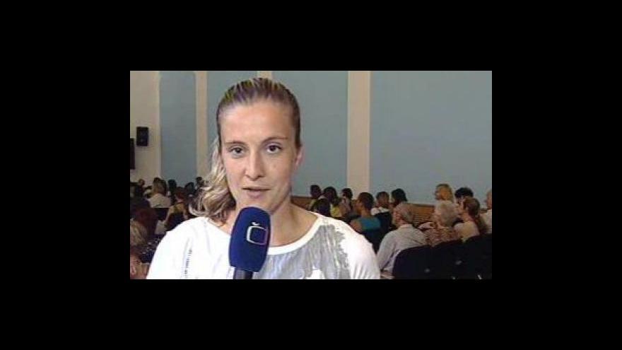 Video Vstup Evy Lípové z festivalu pro židovskou čtvrť v Boskovicích