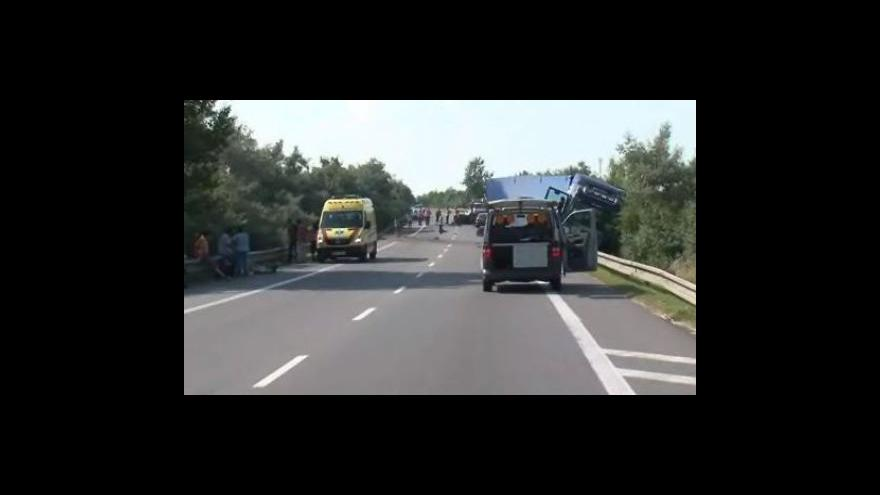 Video No comment - Tragická nehoda u Holubic na Vyškovsku