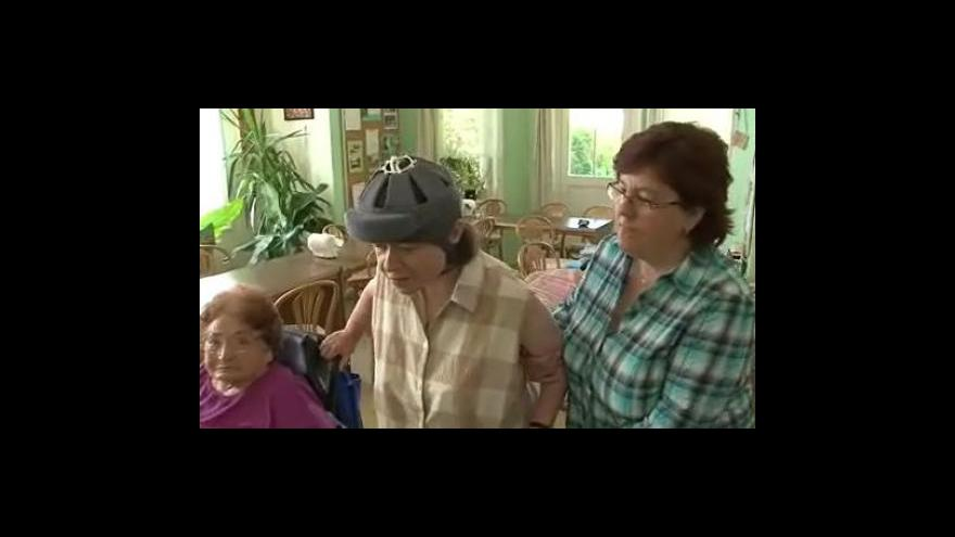 Video Paní Magda o životě v Domově