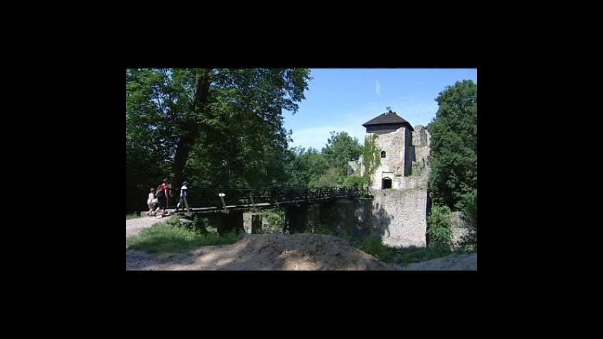 Video Lukovský místostarosta a zakládající člen Spolku přátel hradu Lukova Jiří Holík