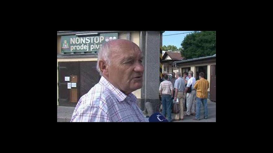 Video Bývalý sládek Josef Veselý, který v pivovaru působil 36 let o hostorii a osudu pivovaru