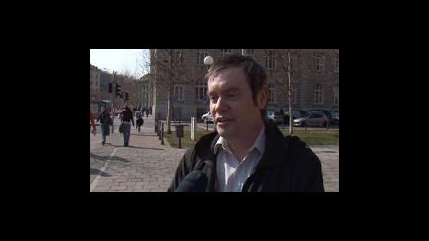 Video Rozhovor s Mirkem Zajdákem, organizátorem Queer parade (natočeno24.3.2010)