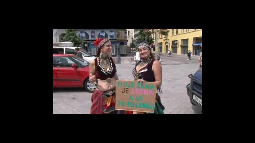 Video NO COMMENT - Queer Parade v Brně 2010