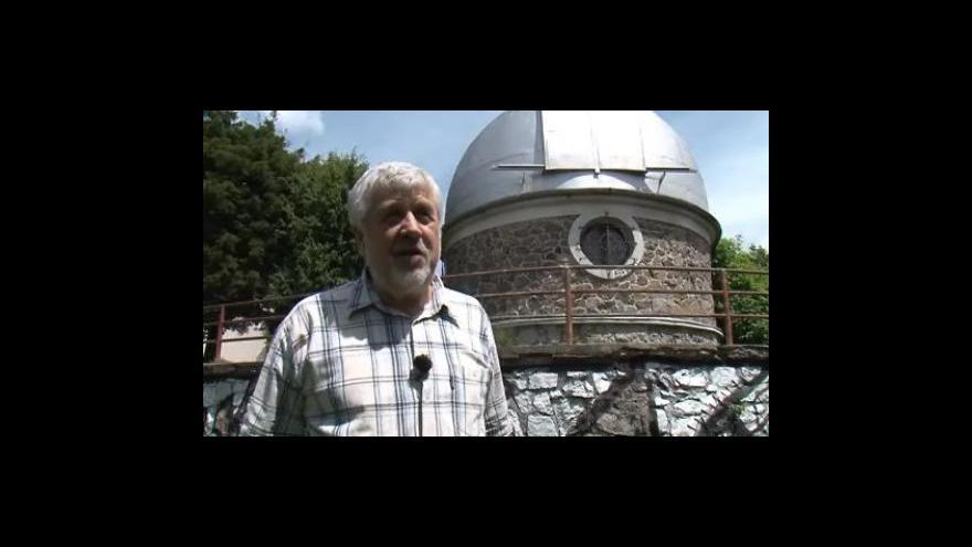 Video Rozhovor se Zdeňkem Mikuláškem, bývalým ředitelem hvězdárny