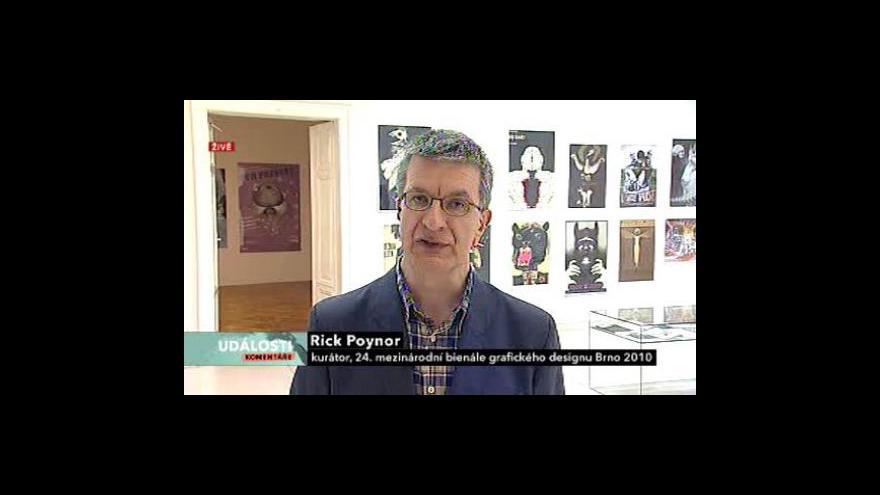 Video Rick Poynor z Bienále