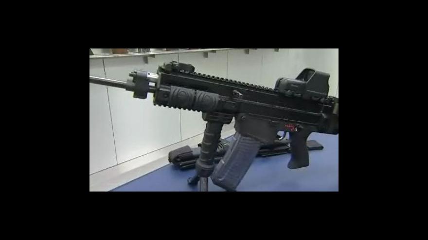 Video Technický ředitel zbrojovky Radek Hauerland o nové útočné zbrani
