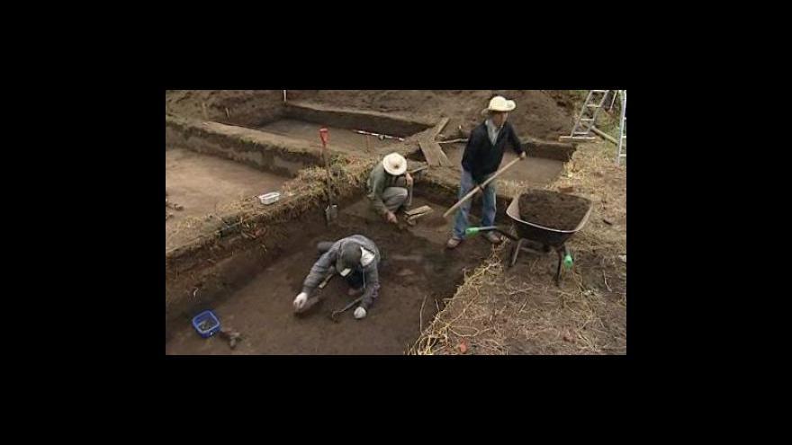 Video Archeologové objevili nové sídliště v Mikulčicích