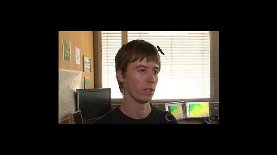 Video Předpověd počasí na víkend od meteorologa Petera Hrušky