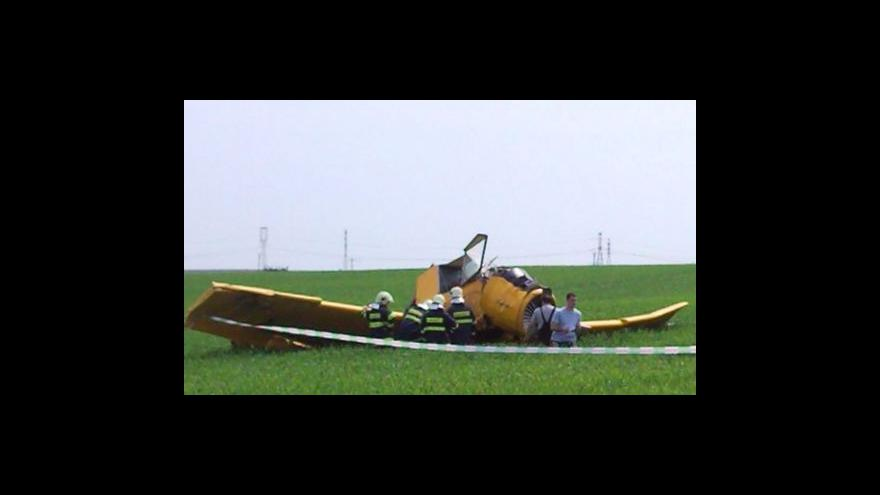 Video No comment - pád letadla