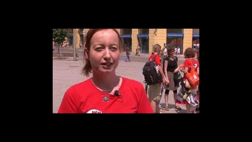 Video tisková mluvčí Fair Trade Gabriela Štěpánová o akci